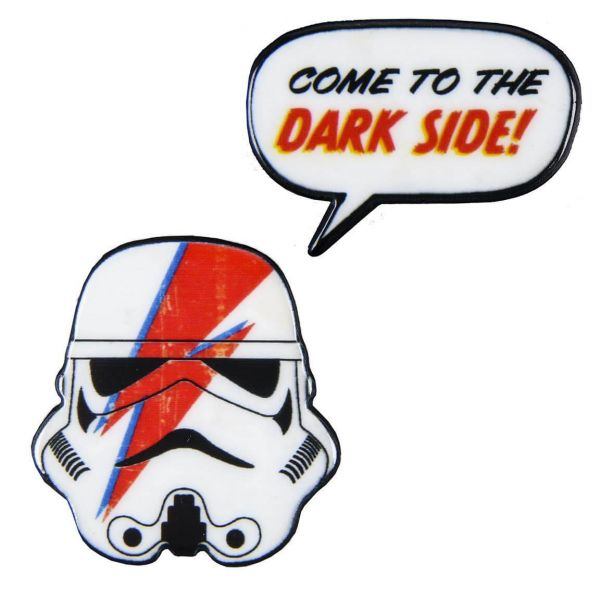 Trooper Dark Side Brosche 2er-Set Star Wars