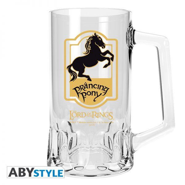 Tänzelndes Pony Bierkrug Herr der Ringe