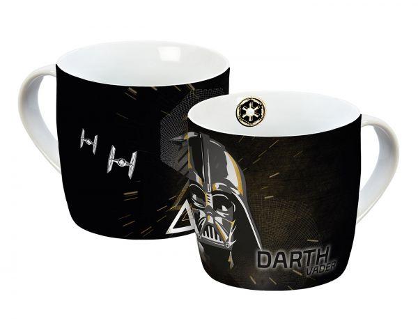 Darth Vader gold Tasse Star Wars