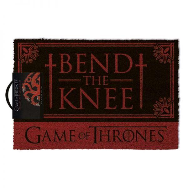 Bend the Knee Fußmatte Game of Thrones