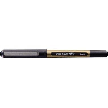 Tintenroller schwarz uni-ball eye broad Kugelschreiber