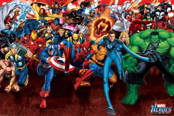 Helden Maxi Poster Marvel