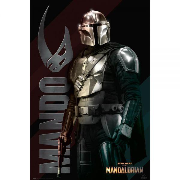 Din Djarin Mando Maxi Poster Star Wars