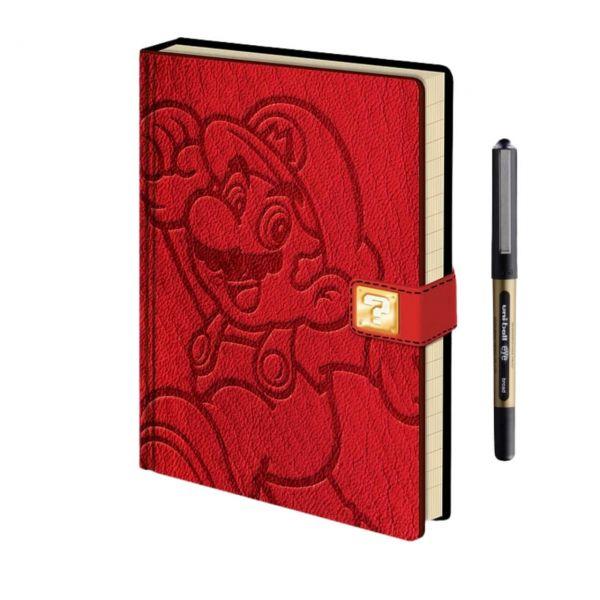 Super Mario Premium A5 Notizbuch-Set Nintendo