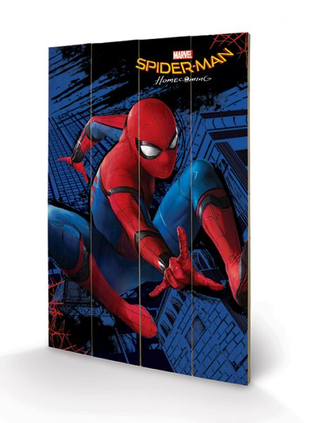 Spider-Man: Homecoming (City), Holzdruck