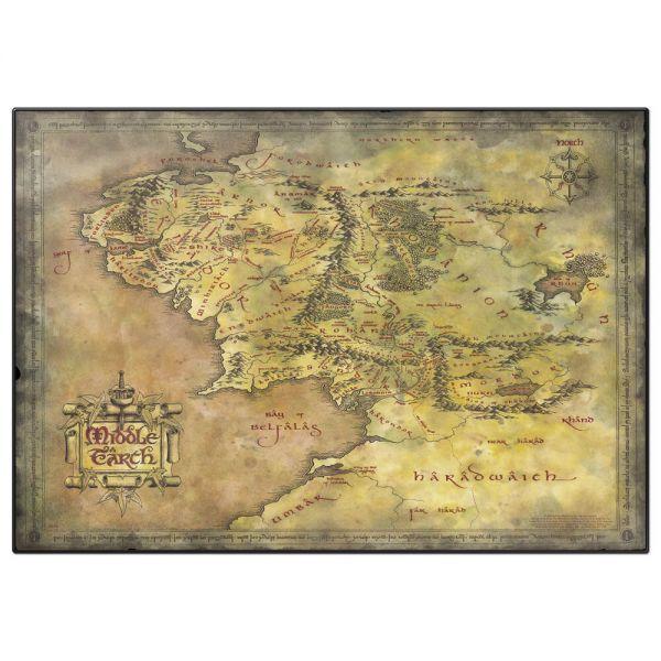 Mittelerde Karte Schreibunterlage Herr der Ringe