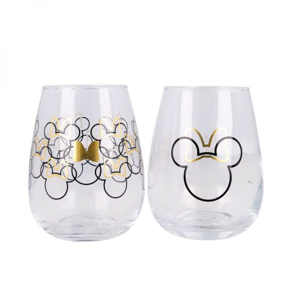Minnie Mouse Glas 2er-Set Disney