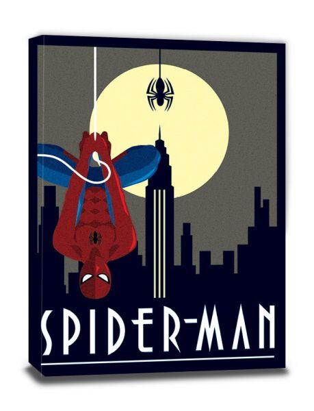 Spider-Man Deco Leinwandbild Marvel