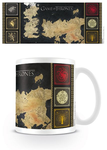Game of Thrones (Karte), Tasse