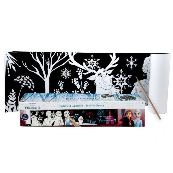 Die Eiskönigin Frozen II Rubbel Poster Disney