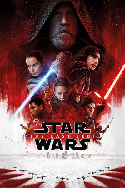 One Sheet The Last Jedi Maxi Poster Star Wars