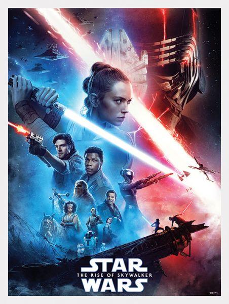 Star Wars: The Rise Of Skywalker (Saga) Leinwandbild