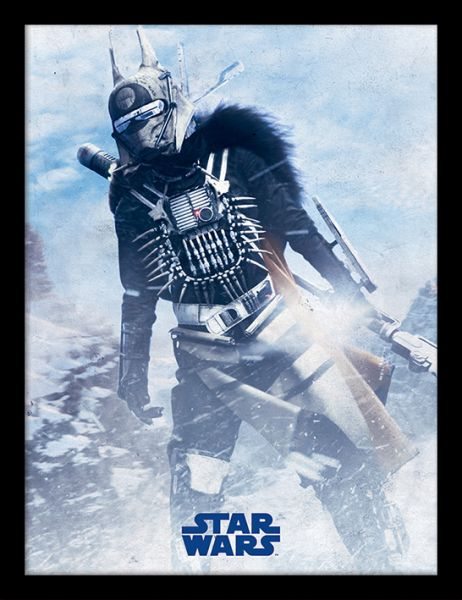 Solo: A Star Wars Story (Enfys Nest), gerahmt