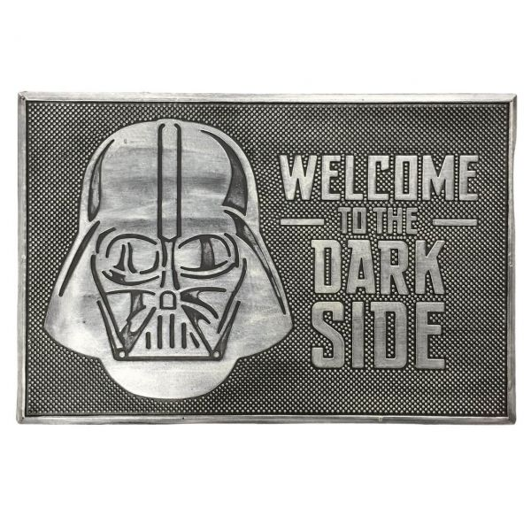 Welcome to the Dark Side Gummi Fußmatte Star Wars