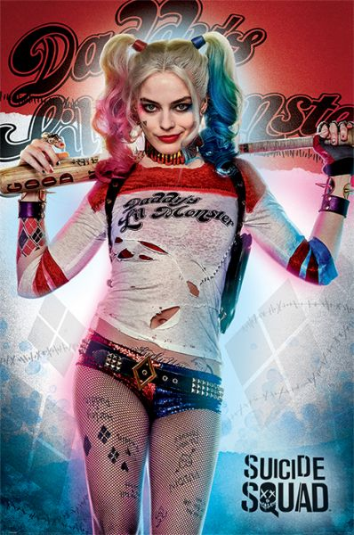 Daddy´s Lil Monster Suicide Squad Harley Quinn Maxi Poster DC Comics