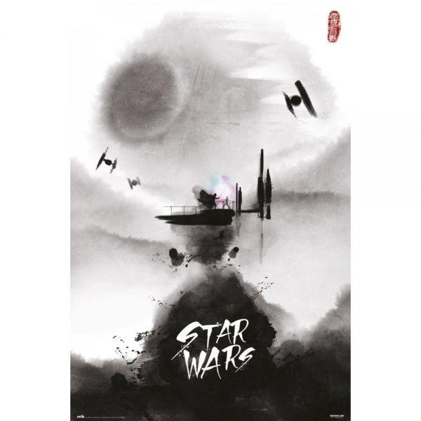 Zeichnung Maxi Poster Star Wars