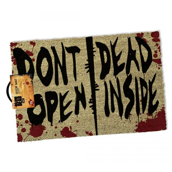 Don't Open Dead Inside Fußmatte The Walking Dead