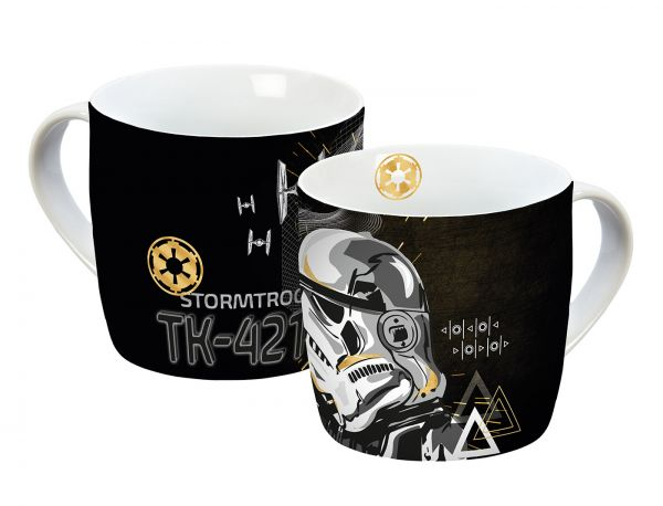 Star Wars (Stormtrooper) Tasse gold