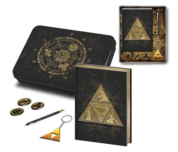 Triforce Schreibwaren-Set The Legend of Zelda Geschenk-Set Nintendo
