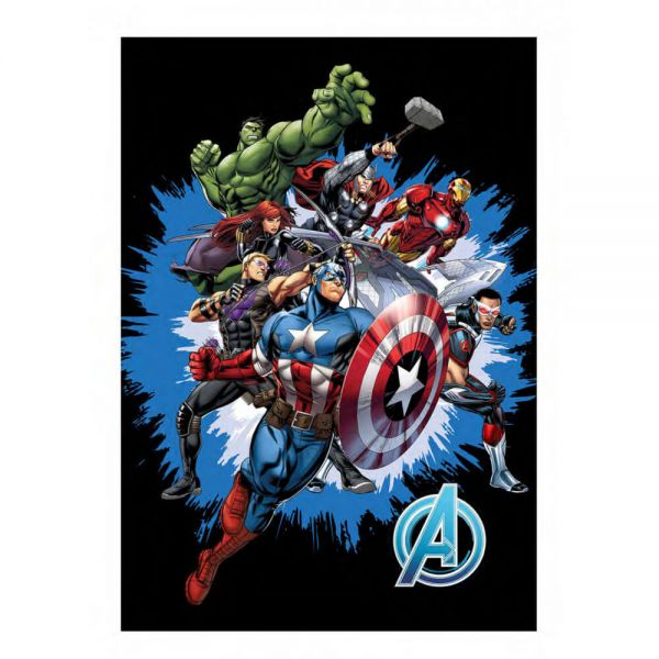Avengers Fleece Decke Marvel