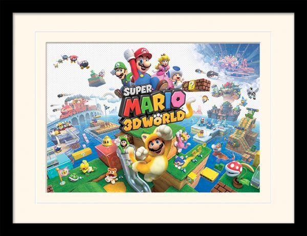 LX – Super Mario: 3D World, Gerahmt