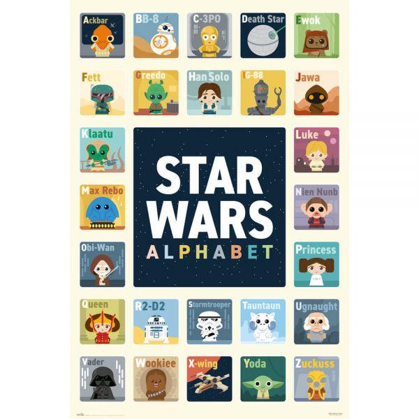 Star Wars Alphabet Maxi Poster