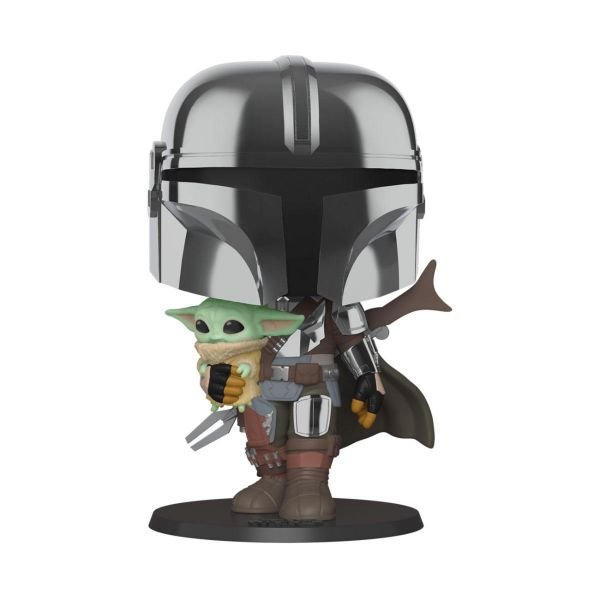 The Mandalorian mit The Child Figur 380 Funko POP! Star Wars