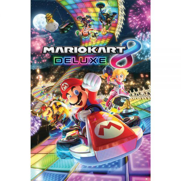 Mario Kart 8 Deluxe Maxi Poster Super Mario