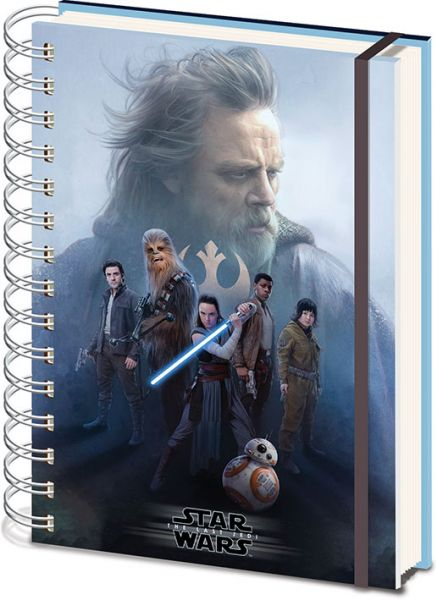 Star Wars: The Last Jedi Cast, 3D Notizbuch
