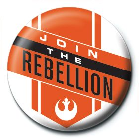 Join the Rebellion Button Star Wars