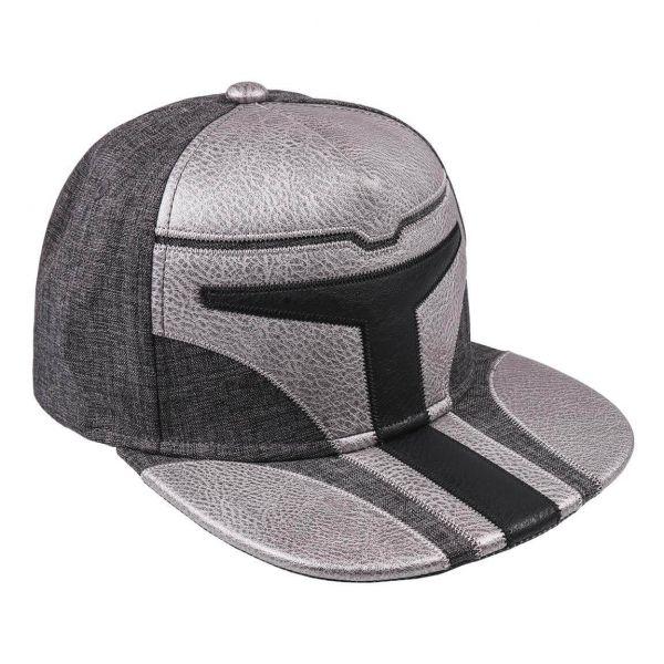 Mando Helm Snapback Cap Star Wars