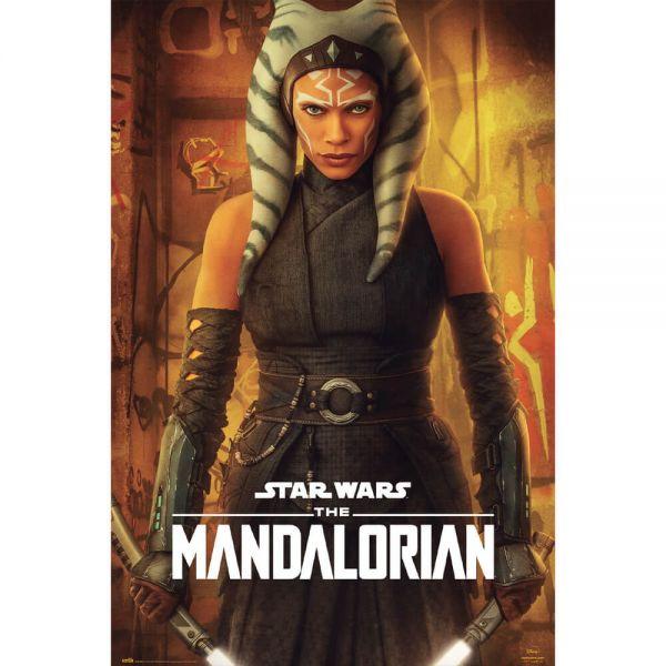 Ahsoka Tano Mando Maxi Poster Star Wars