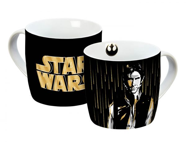 Han Solo gold Tasse Star Wars