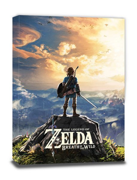 Sonnenuntergang Zelda Breath of The Wild Leinwandbild Nintendo