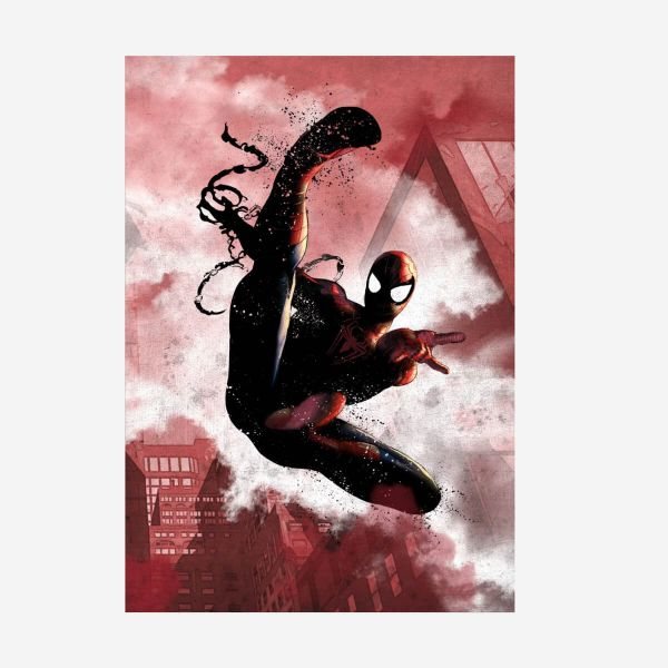 Spider-Man Dark Edition – Metall Poster