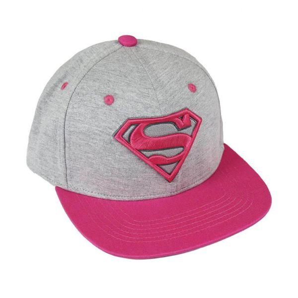 Superman Supergirl Snapback Cap DC Comics