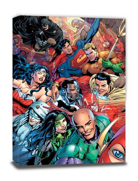 Justice League (Selfie), Leinwanddruck
