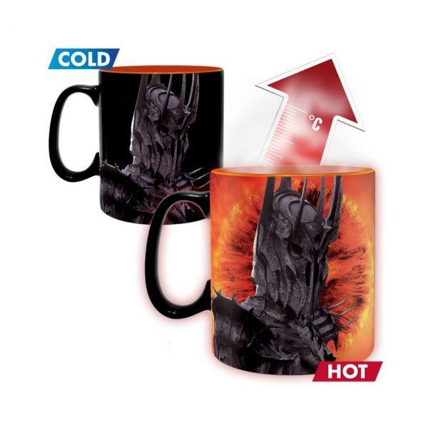 Sauron Thermoeffekt Tasse Herr der Ringe