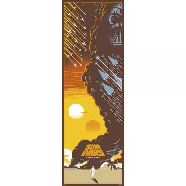 Episode IV Eine neue Hoffnung Tür Poster Star Wars