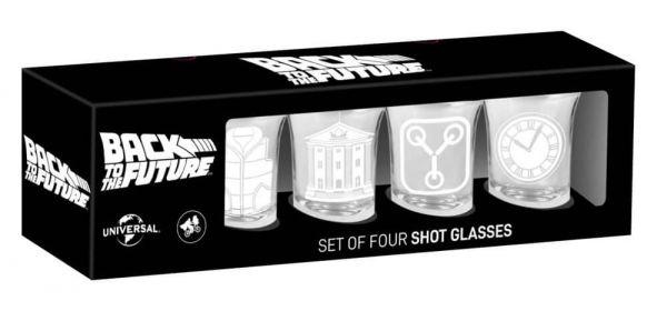 Zurück in die Zukunft Shots 4er-Set