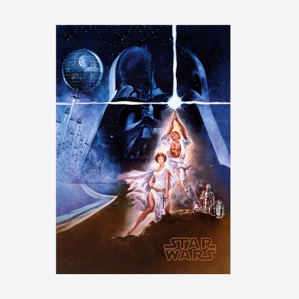 A new hope Metall Poster Star Wars