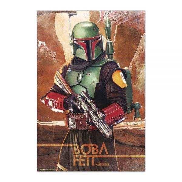 Boba Fett Mandalor Maxi Poster Star Warss