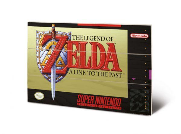 The Legend Of Zelda (Super Nintendo) Bild auf Holz