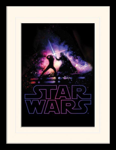 Battle gerahmtes Bild Star Wars