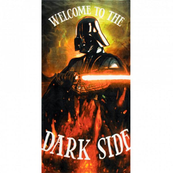 Welcome to the Dark Side Fleece Decke Star Wars