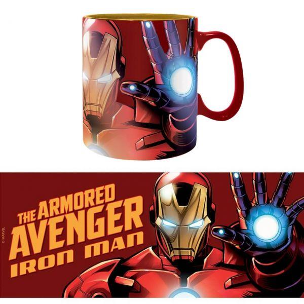 The Armored Avenger Iron Man Tasse Marvel