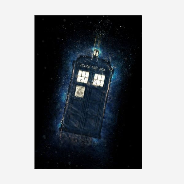 Tradis Metall Poster Doctor Who