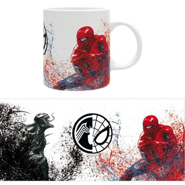 Venom versus Spider-Man Tasse Marvel