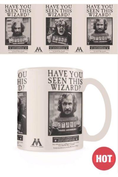 Wanted Sirius Black Thermoeffekt Tasse Harry Potter