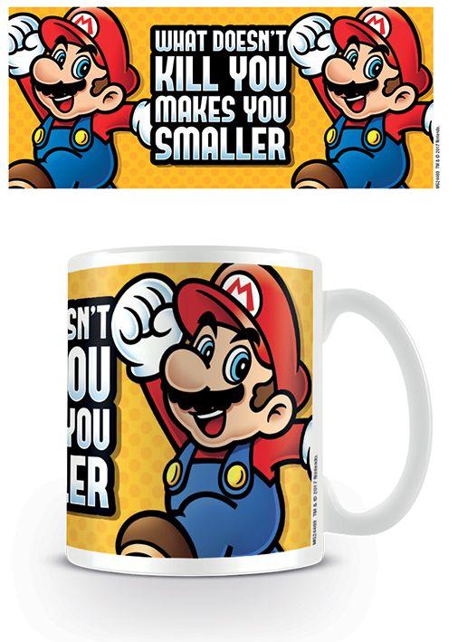 Makes You Smaller Super Mario Tasse Nintendo